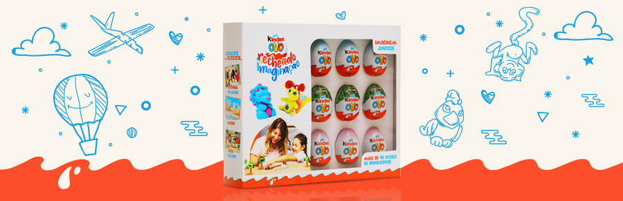 Imagine com Kinder